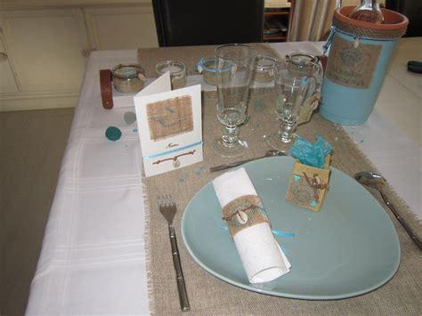 Decoration Table Mer by Decoration De Table Sur La Mer