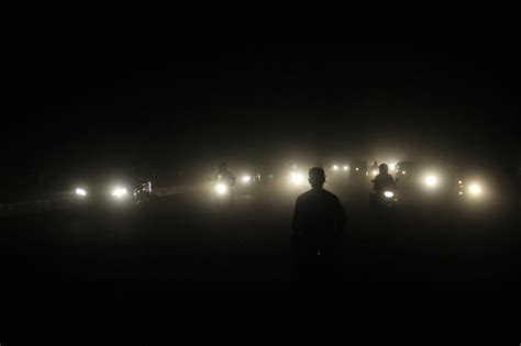 Plunged Into Darkness 2 by Sudden Dust And Rains Plunge Lucknow In Darkness