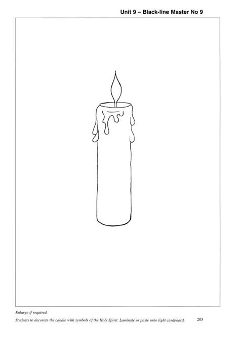 baptism candle template baptism candle clip 23