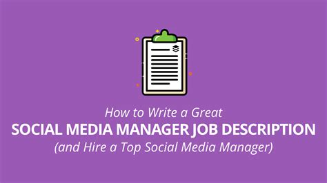 social media manager description social media manager description guide tips