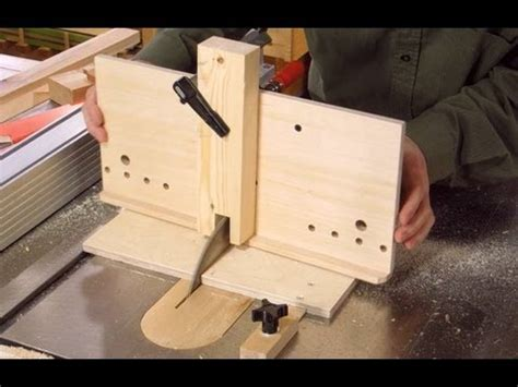 table  dovetail jig build  youtube