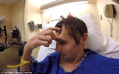 scotty fracture bmx scotty cranmer gets plastic frankenstein forehead