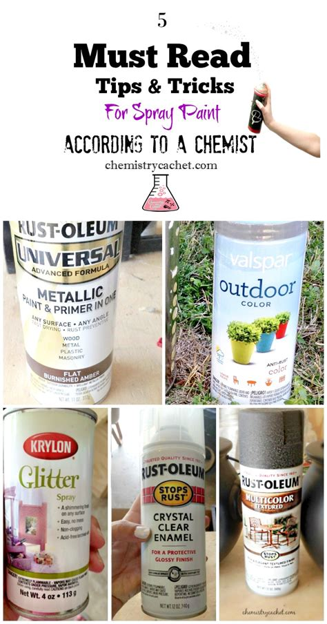 spray paint secrets five must read tips and tricks for spray paint