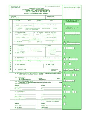 Arkansas Department Of Birth Records Blank Birth Certificate Form Templates Fillable Printable Sles For Pdf Word