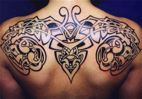 upper body tribal tattoos back tribal designs pictures meaning