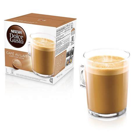 Nescafe Dolce Gusto Au Lait Murah nescaf 233 dolce gusto caf 233 au lait 16 c 225 psulas pccomponentes