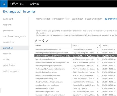 Office 365 Quarantine Login How To Release Quarantine Email In Office 365 Step By