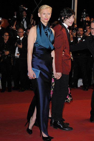 ezra miller tilda swinton tilda swinton photos photos cannes 2011 quot we need to