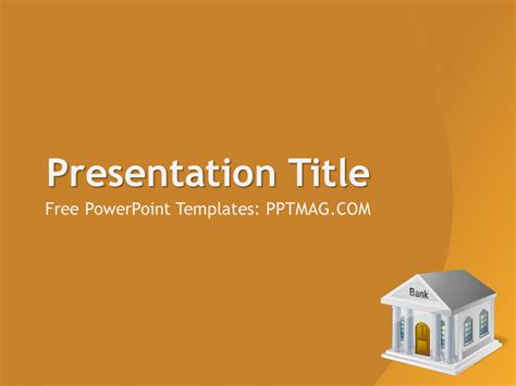 ppt templates for banking banking powerpoint template pptmag