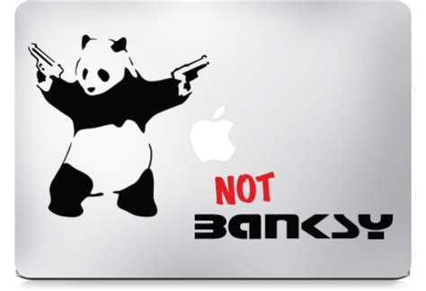 Tokomonster Decal Sticker The Rat With Macbook Pro And banksy stickers for macbook kamos sticker