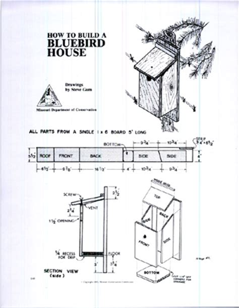 bluebird houses plans western and mountain bluebird house plans blue bird house plans complete detailed