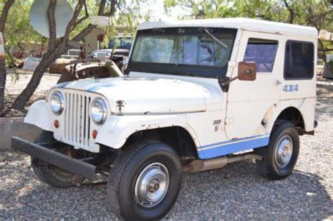 Used Jeeps For Sale In Az Buy Used Classic Jeep Cj Dauntless V6 Vintage Arizona
