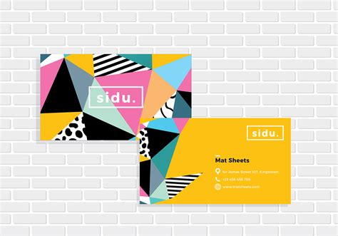 free name card template vector name card template vector free vector
