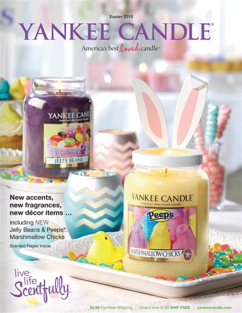 yankee candle fan club login yankee candle catalog spring 2015 scentsationalist