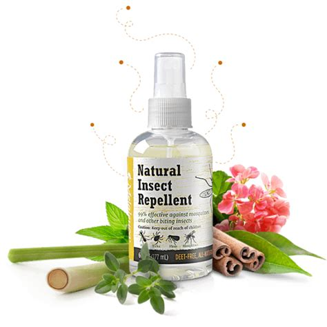 natural mosquito repellent melaleuca natural insect repellent 177ml