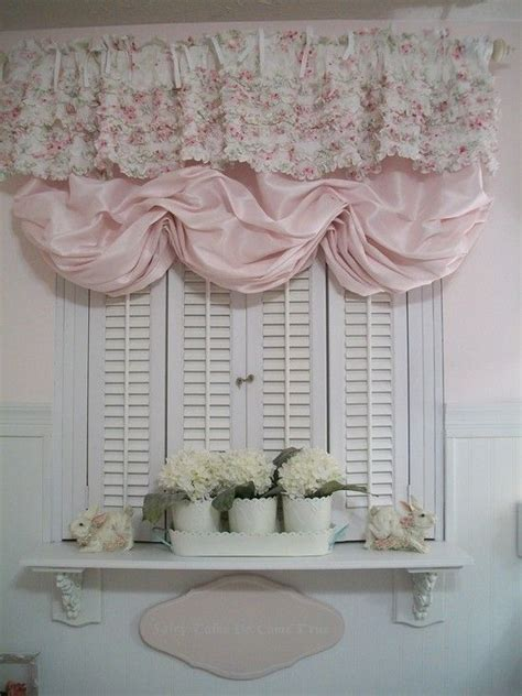 shabby chic style window treatment formal home design 140 best shabby chic bathrooms images on pinterest
