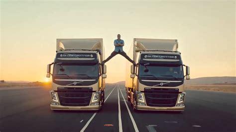 jean claude van damme epic volvo trucks commercial youtube