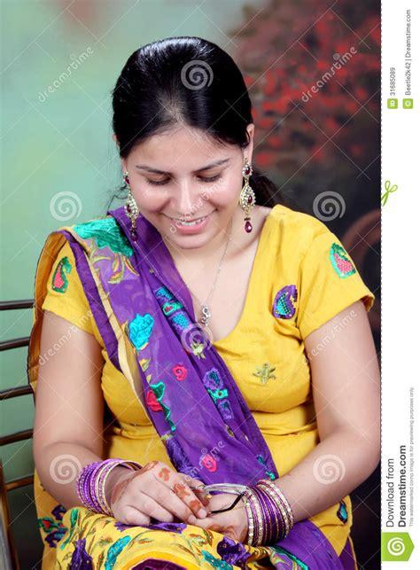 pure punjaban girl royalty free stock images image 31685089
