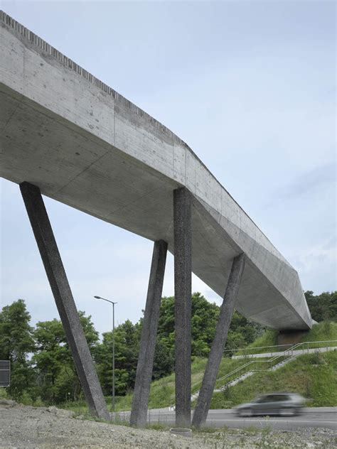 bridge pattern là gì la sallaz footbridge 2b architectes archdaily