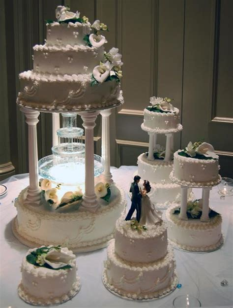 Wedding Cakes With Fountains by Wedding Cake Designs