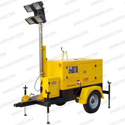 Portable Trailer Lights by Mobile Trailer Generator Light Tower Lighting Tower Buy Portable Light Tower Generator