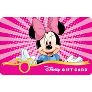 Gift Cards Fab - your wdw store disney collectible gift card fab 5 minnie mouse