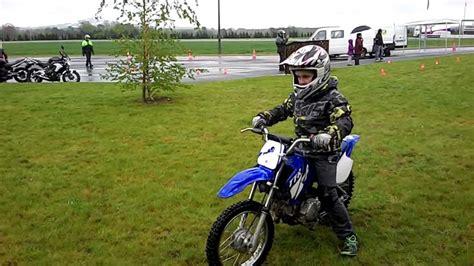Cross Motorrad 65ccm by Reprise De La Moto En Yamaha Ttr 90 Youtube