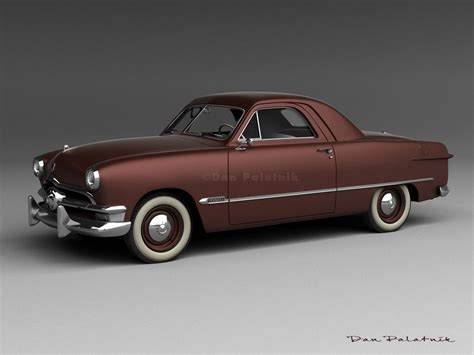 1950 ford business coupe a garagem digital de dan palatnik the digital garage