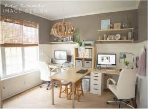 family desk home office desk for two 126 home offices