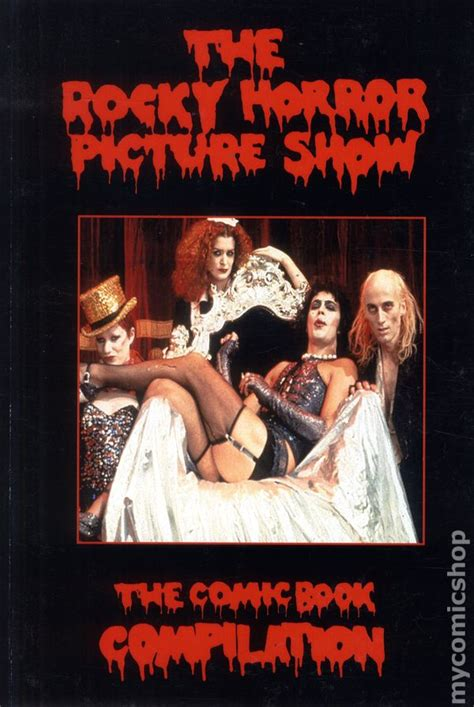 rocky horror picture show book rocky horror picture show the comic book compilation tpb