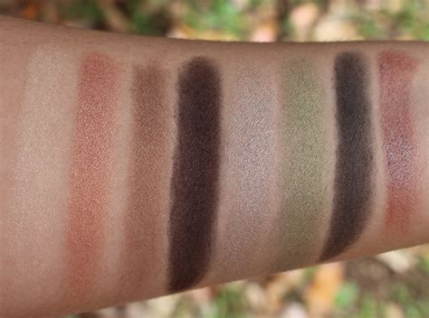 Comfort Zone Swatches by N Comfort Zone Palette Review The Milk