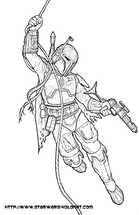 boba fett coloring pages wars boba fett coloring pages coloring home