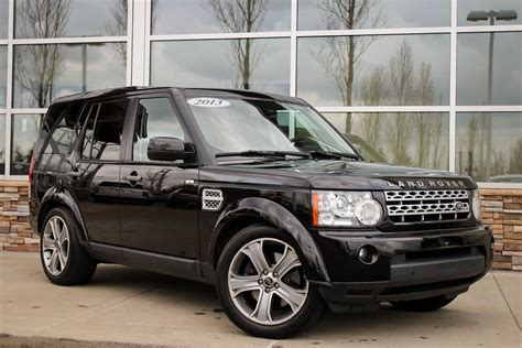 certified pre owned land rover certified pre owned 2013 land rover lr4 hse sport utility