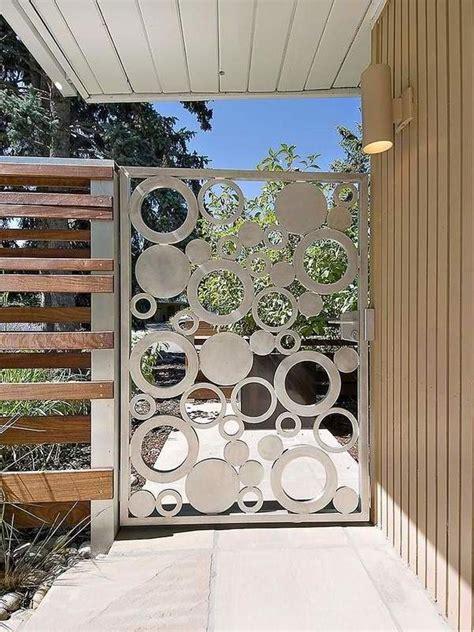 Gartentor Aus Edelstahl by Edelstahl Gartentor 21 Originelle Gestaltungsideen Deko