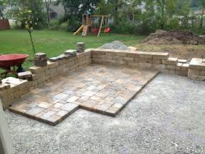 Pavers Patios Diy Backyard Paver Patio Outdoor Oasis Tutorial The Rodimels Family