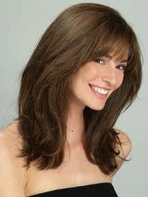 i a olong oval what hairstyle thick hair hair and bangs on pinterest