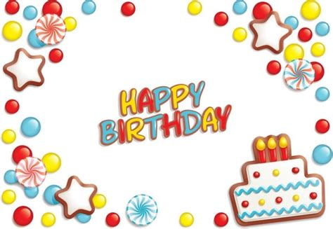 called party pattern usage cdr happy birthday cartoon pictures free vector download