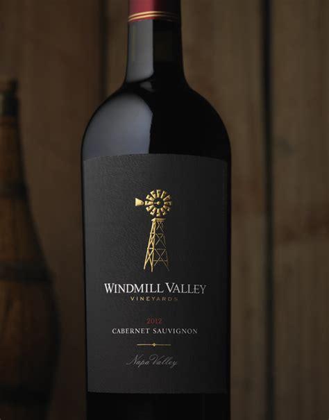 wine label design napa valley cf napa brand design windmill valley vineyards wine