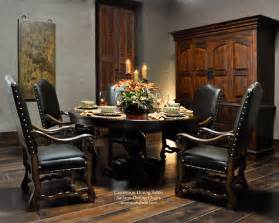 Tuscan Style Dining Room Furniture Tuscan Dining Room Tables Large Round Dining Table For Old