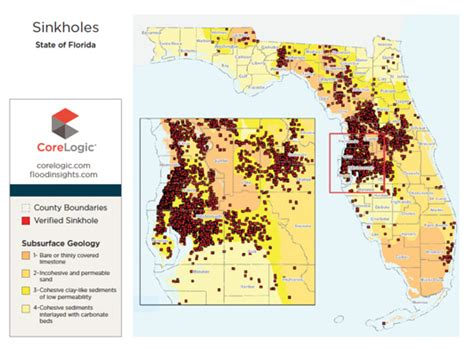 sinkhole map of florida florida sinkhole report s