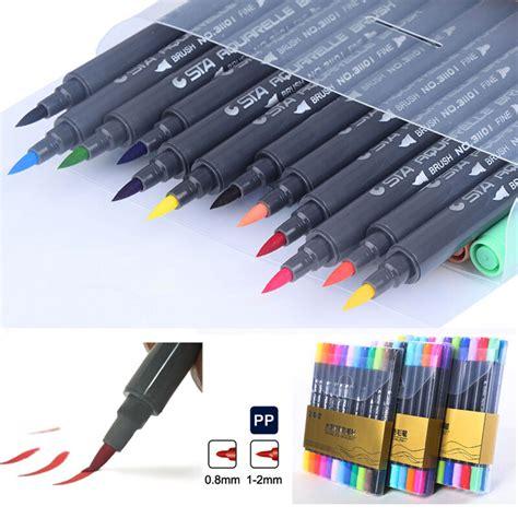 water color markers sta colors brush watercolor pen graffiti