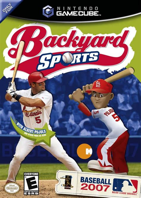 backyard sports baseball backyard sports baseball 2007 box shot for gamecube gamefaqs