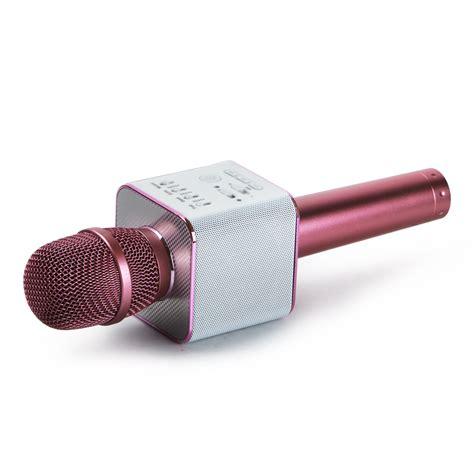 Mic Q9 Karaoke Bluetooth Mic Q9 q9 microphone wireless bluetooth karaoke ktv usb player microphone w speaker ebay