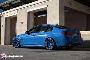 yas marina blue bmw m3 on hre classic 300 wheels