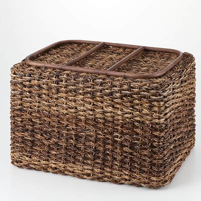 muji baskets stackable bac bac basket rectangular l w36 d26 h24cm