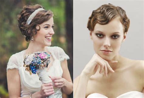 peinado para pelo corto y rizado peinado para boda pelo corto con peinados para novias con