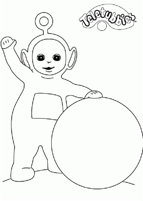 free coloring book free printable teletubbies coloring pages for