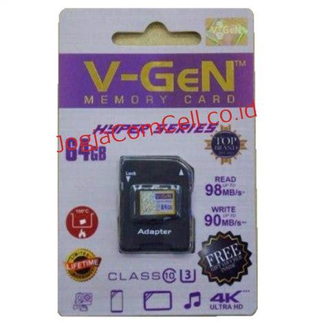Flashdisk 64gb Atom Vgen memori v 64gb hyper class original