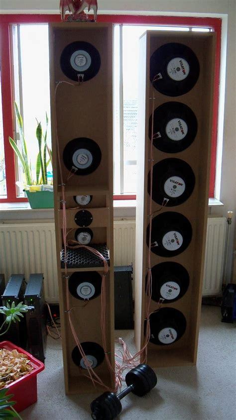 gate  tower open baffle speaker system home