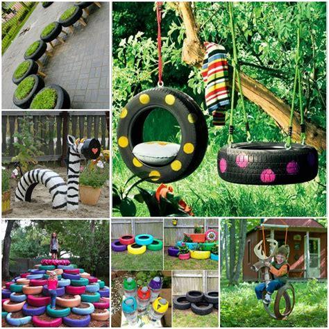 Tire Garden Ideas 10 Diy Tire Decoration Ideas For Your Garden Gardens Planters And Tire Swings